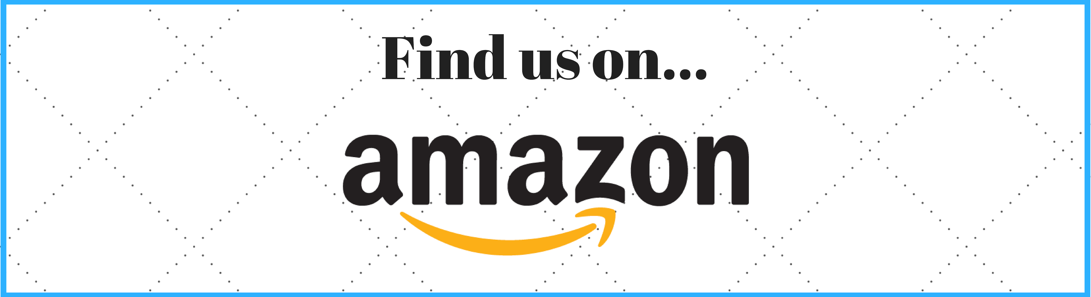 Find us on ... Amazon